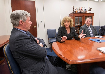 Rhode Island leaders with Sen. Whitehouse